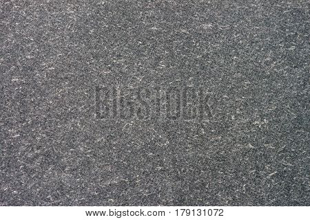 Texture of organic grey paper for artwork with numerous natural inclusions. Modern dark background, backdrop, substrate, composition use with copy space