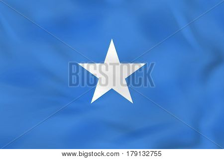 Somalia Waving Flag. Somalia National Flag Background Texture.