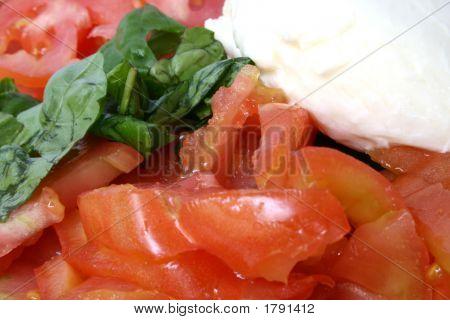 Mediterranean Salad Closeup