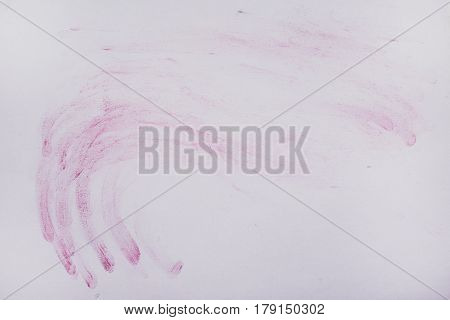 Picture Of A Chalky Chalk On A White Paper, Backgrounds, Textures