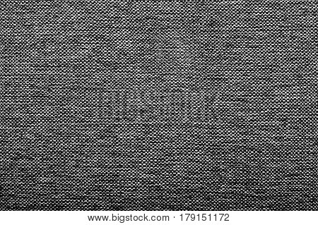 Black And White Background Texture, Coarse Upholstery For Sofas.