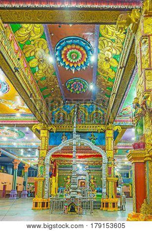 Tamil Hindu Temple In Sri Lanka