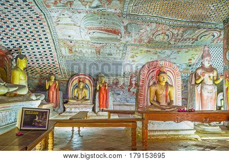 Visit The Caves Of Dambulla