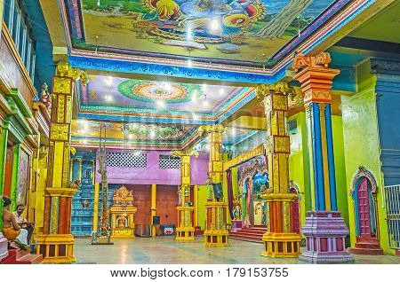 Excursion To Tamil Hindu Temple