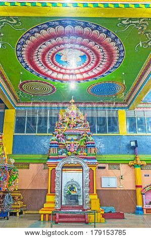 Decors In Tamil Hindu Temple