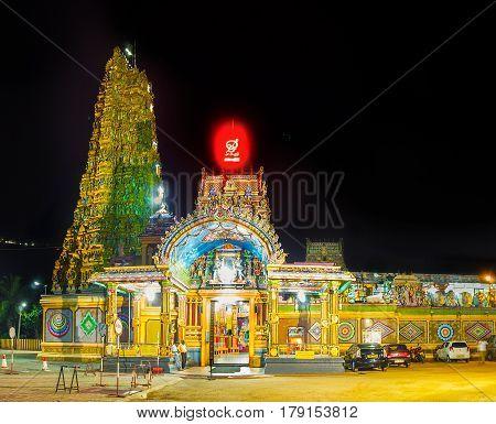 Hindu Temple In Matale
