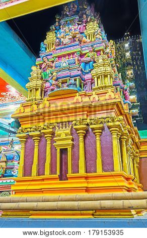 The Towers Of Hindu Temple