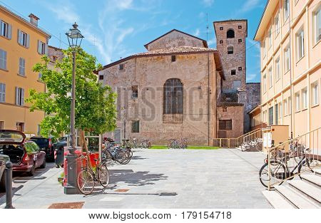 The Medieval Churches In Parma