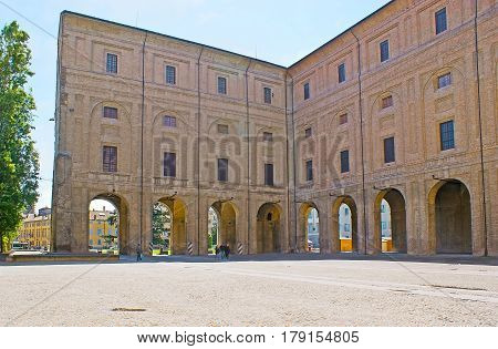 The Arcades Of Pilotta Palace