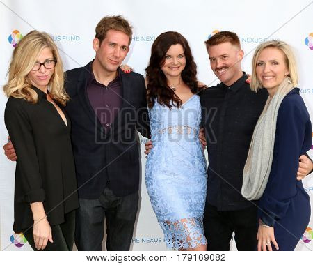 LOS ANGELES - MAR 25:  Smith, Szmanda, Tom, Shane Cosme, Johanna Maska at the Night of Cocktail and Virtual Reality benefiting The Nexus Fund at Private Residence on March 25, 2017 in Glendale, CA