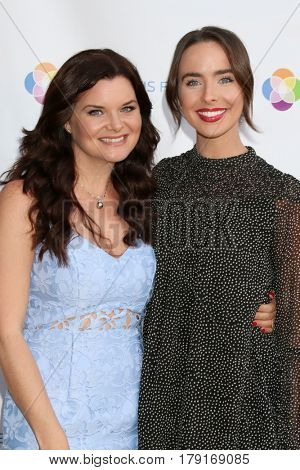 LOS ANGELES - MAR 25:  Heather Tom, Ashleigh Brewer at the Night of Cocktail and Virtual Reality benefiting The Nexus Fund at Private Residence on March 25, 2017 in Glendale, CA