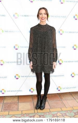LOS ANGELES - MAR 25:  Ashleigh Brewer at the Night of Cocktail and Virtual Reality benefiting The Nexus Fund at Private Residence on March 25, 2017 in Glendale, CA