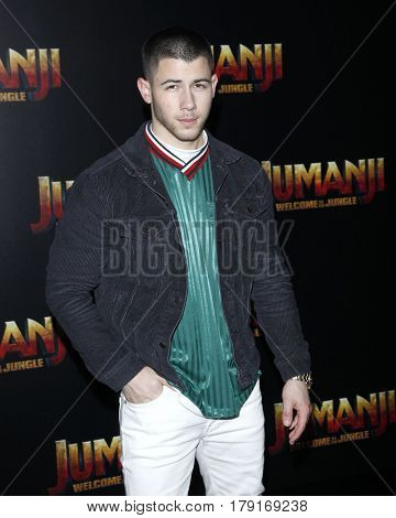 LAS VEGAS - MAR 27:  Nick Jonas at the Sony CinemaCon Photocall at the Caesars Palace on March 27, 2017 in Las Vegas, NV