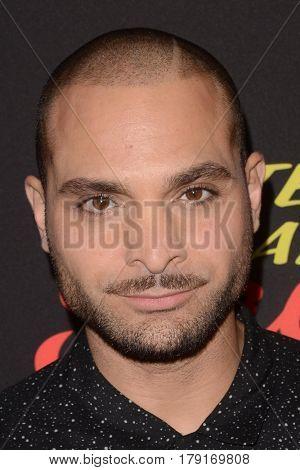 LOS ANGELES - MAR 28:  Michael Mando at the