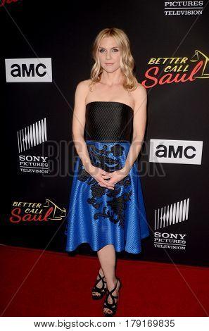 LOS ANGELES - MAR 28:  Rhea Seehorn at the