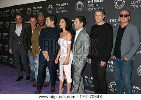 LOS ANGELES - MAR 29:  Prison Break cast, Dominic Purcel, Wentworth Miller at the