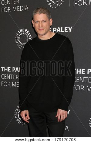 LOS ANGELES - MAR 29:  Wentworth Miller at the