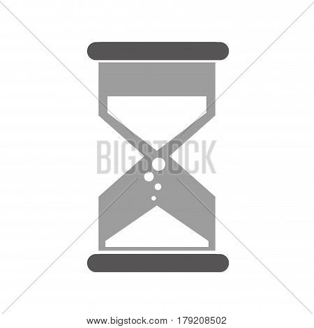 sandglass time isolated icon vector illustration design