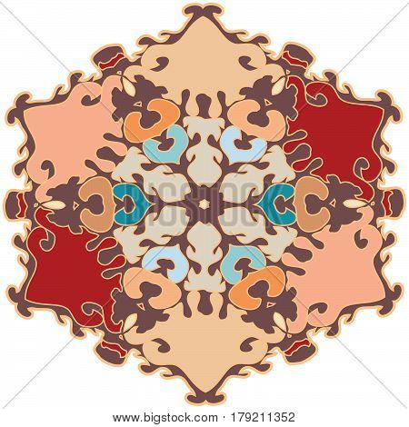 Ornament colorized with smoothness and harmony and comprising of a hip modern feel