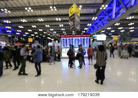 abstract, activity, airline, airplane, airport, airways, architecture, arrival, backdrop, background, bag, bkk, blue, blur, blurred, blurry, bokeh, building, business, busy, check-in, city, color, counter, crowd, departure, design, entrance, flight, gate, poster