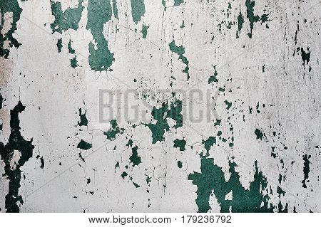 Old wall texture background with dirt and cracks
