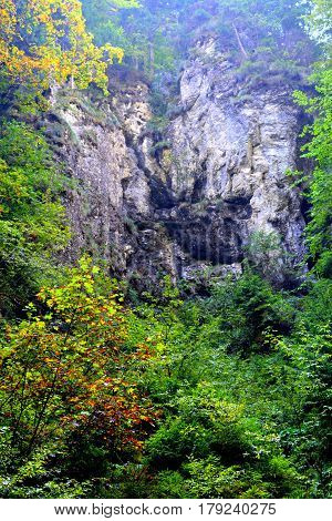 Landscape in Apuseni Mountains, Transylvania. The Apuseni Mountains is a mountain range in Transylvania, Romania, which belongs to the Western Romanian Carpathians, also called Occidentali in Romanian. The Apuseni Mountains have about 400 caves