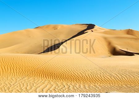 In Oman Old  And Outdoor  Sand