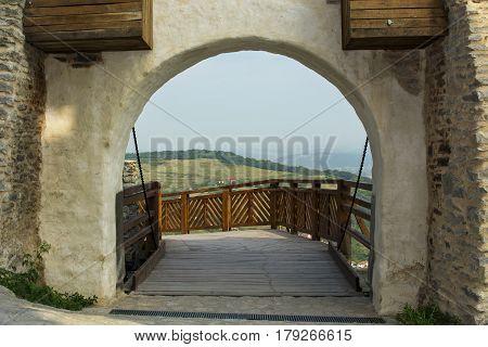 Deva surroundings see from Deva's fortress gate