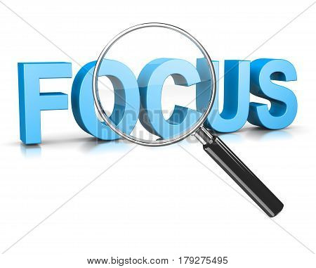 Magnifier Focus Text