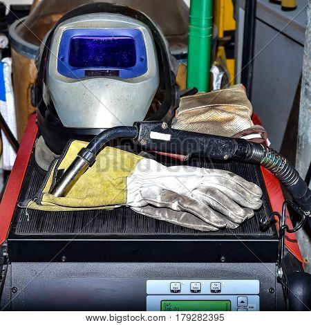 All the necessary tools for welding Things for welding