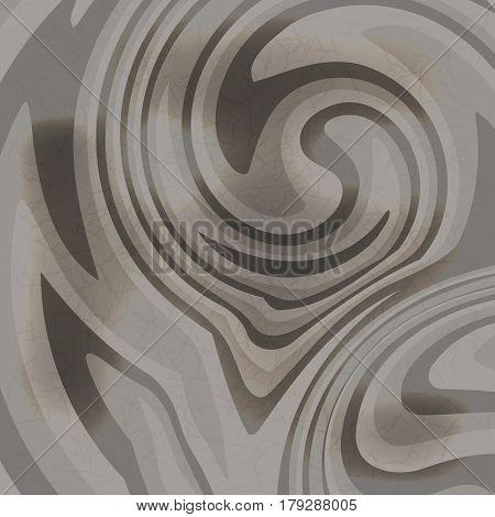 Flat gray wood background. Dark wooden texture. Natural tree pattern. Flat vector illustration.