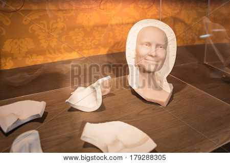 BANGKOK - JAN 29: A waxwork mold on display at Madame Tussauds on January 29, 2016 in Bangkok, Thailand. Madame Tussauds' newest branch hosts waxworks of numerous stars and celebrities