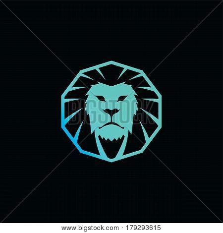 Lion King Brand Template Logo Logotype Vector Art