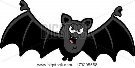 Cartoon Sinister Bat