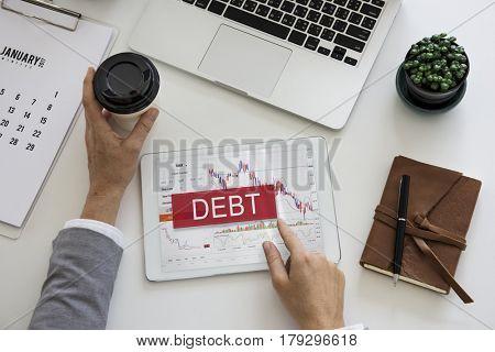 Debt Loss Recession Stock Market Exchange