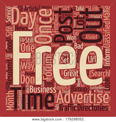 Website Traffic Is Not The Key To Success text background word cloud concept