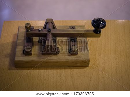 The Old And Vintage Telegraph Key  , Morse System