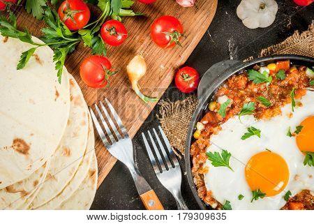 Huevos Rancheros, Mexican Food