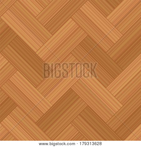 Herringbone parquet double row - vector illustration of a typical wooden flooring pattern - seamless extensible in all directions.