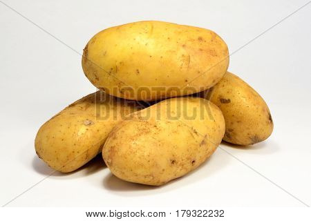 Fresh potatoes healthy vegetarian source of carbohydrate