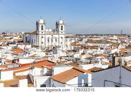 a view over Campo Maior city, Portalegre district, Portugal