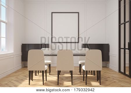 Living Room With A Table And A Sofa