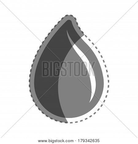 grayscale drop blood donation transfusion, vector illustration