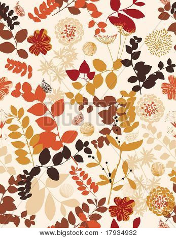 Floral (Seamless Pattern)