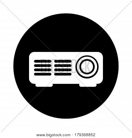 video projector isolated icon vector illustration design