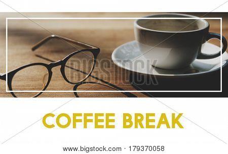 Coffee Break Recreation Aroma Word