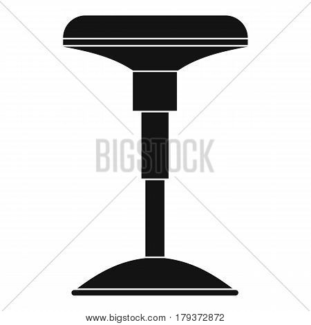 Bar stool icon. Simple illustration of bar stool vector icon for web