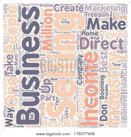 You Can Successfully Reach Financial Freedom With A Home Based Business text background wordcloud concept