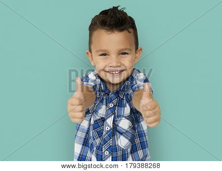 Little Boys Two Thumbs Up