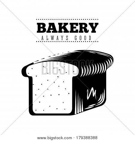 bakery shop always fresh vector illustration design
